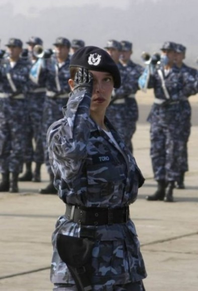 military_woman_chile