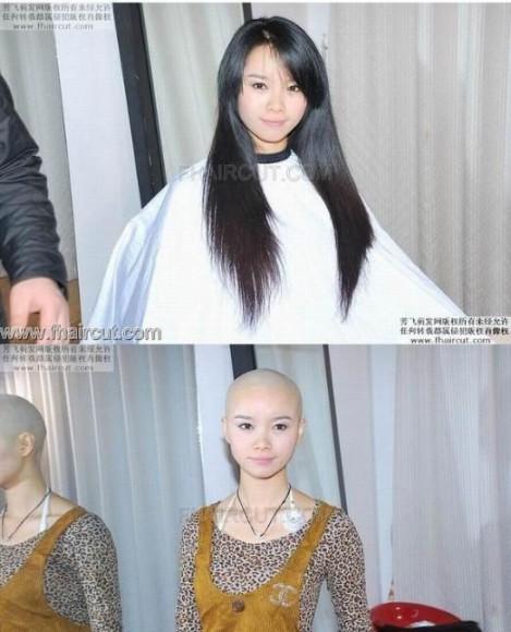 ショートヘアでイメチェン?中国人女性達の一風変わった髪型