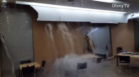 flooded-yonsei-university-library01